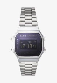 Casio - RETRO  - Digital watch - silver-coloured - 2