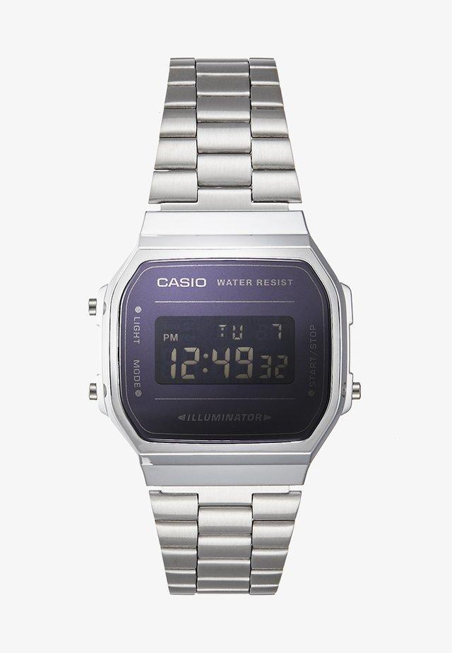 RETRO  - Digital watch - silver-coloured