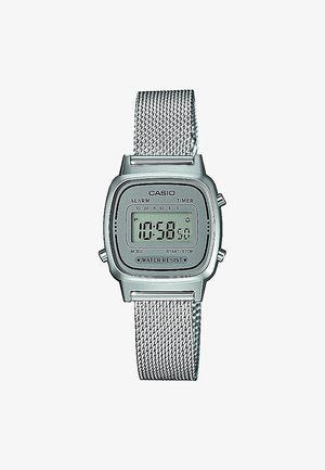 Digital watch - silver