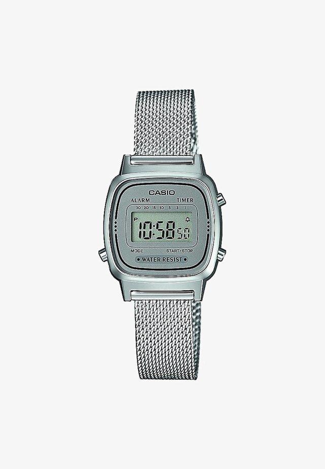 Digitaal horloge - silver