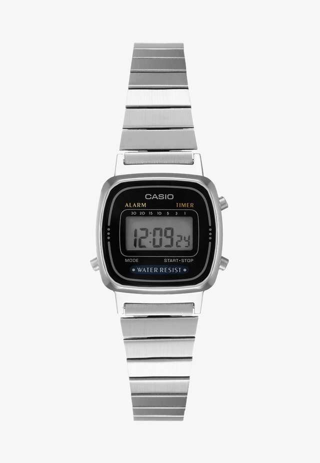 Digitaal horloge - silver-coloured