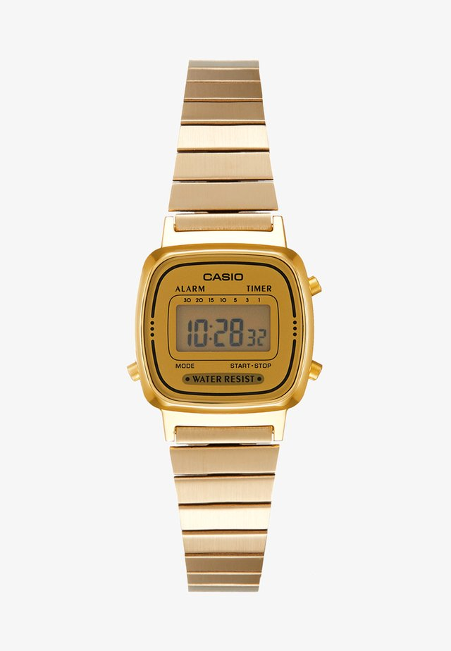 Digitaal horloge - gold-coloured