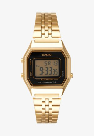 Orologio digitale - gold-coloured/black