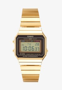 Casio - Digital watch - gold-coloured
