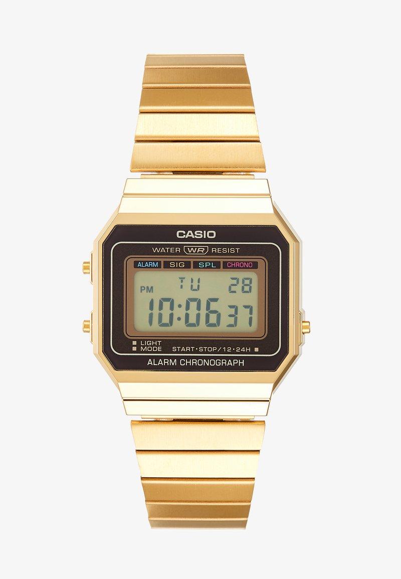 Montre Gold À Affichage Casio DigitalGold coloured wO8Pnk0