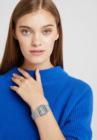 Casio - Digital watch - silver-coloured - 1