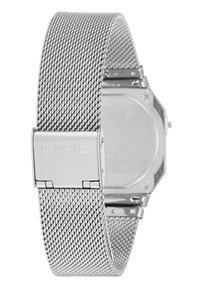 Casio - Digital watch - silver-coloured - 3