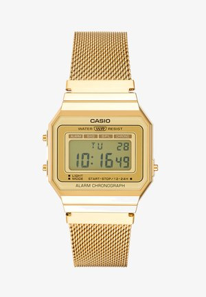 Digitaluhr - gold-coloured