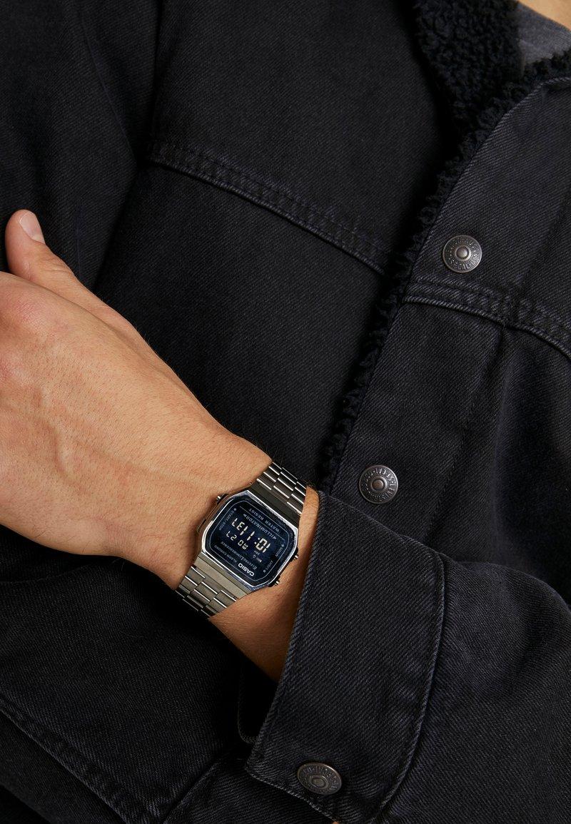 Casio - Digital watch - gunmetal