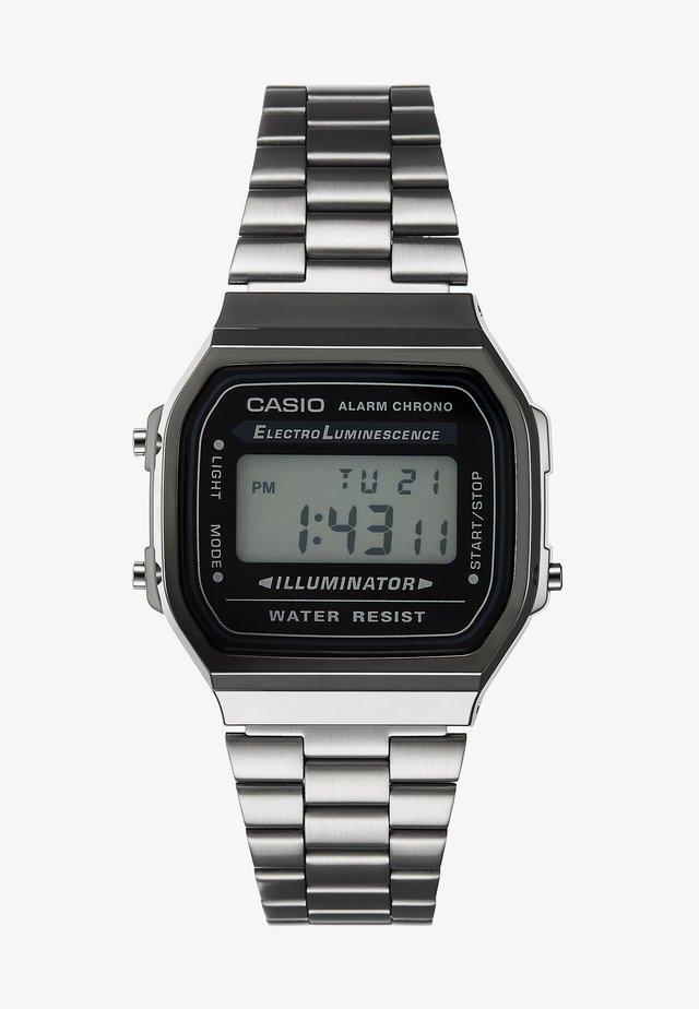 Digital watch - gunmetal