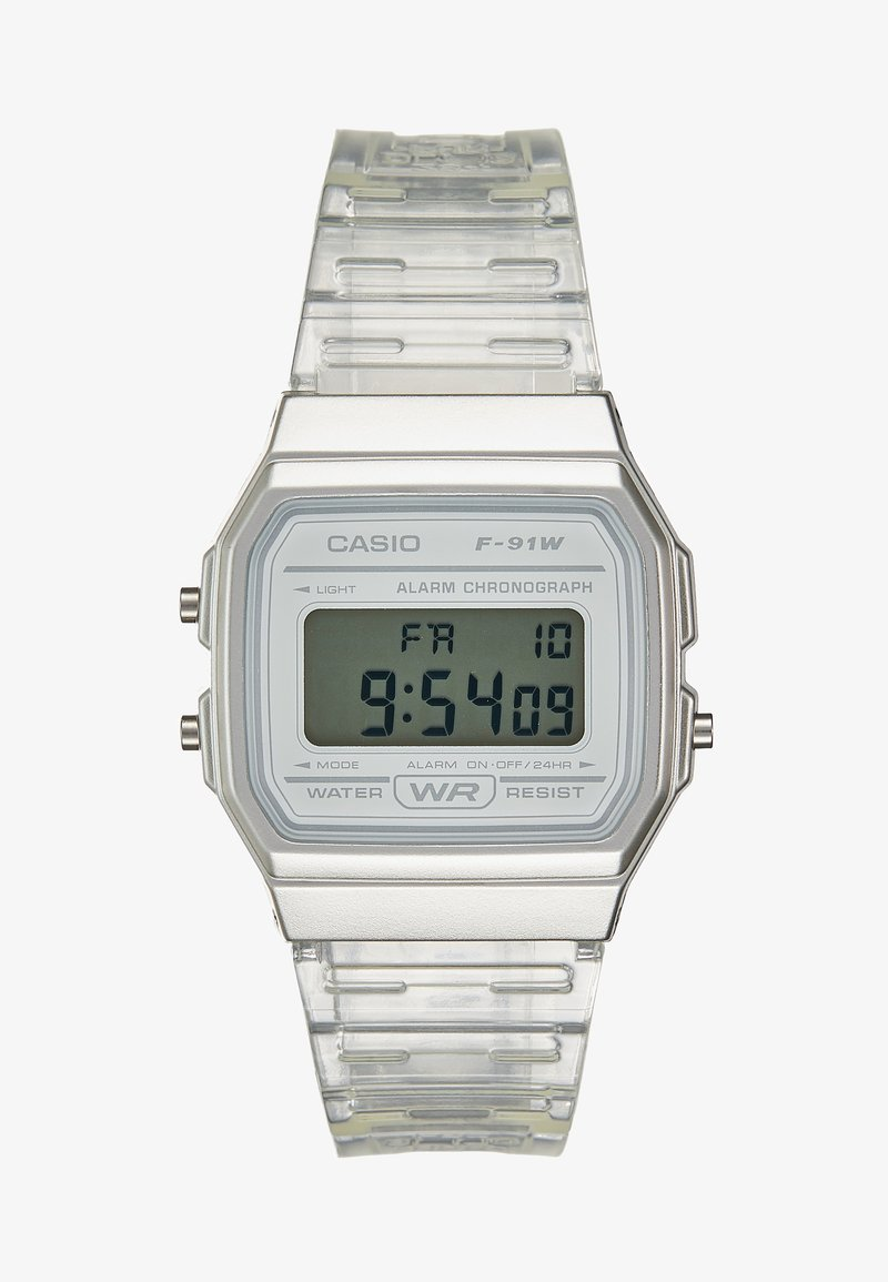 Casio - SKELETON - Digital watch - clear