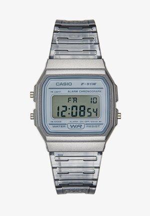 SKELETON - Digitální hodinky - clear grey