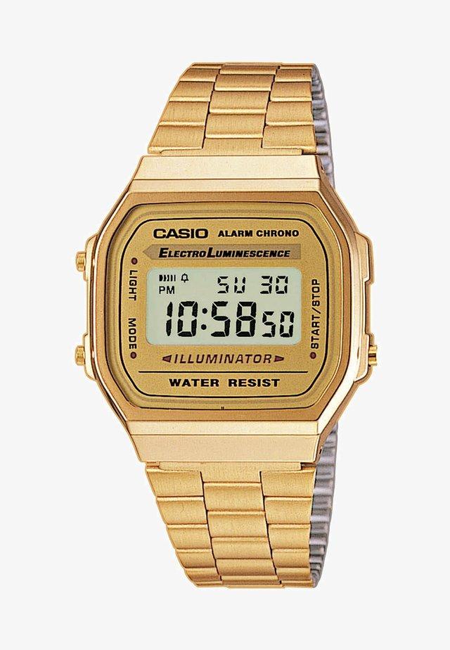 Digital watch - gold