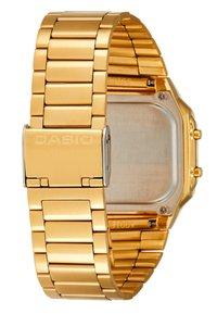 Casio - Digital watch - gold-coloured - 3