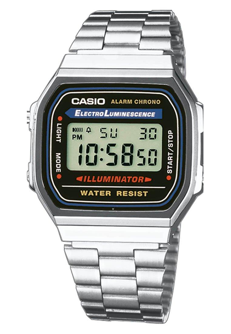 Casio - Digitaluhr - silber