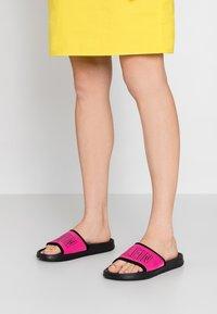 Calvin Klein Swimwear - SLIDE - Sandaler - beetroot purple - 0
