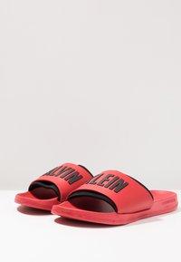 Calvin Klein Swimwear - SLIDE - Pantofle - flame scarlet - 4