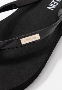 Calvin Klein Swimwear - Badesko - black - 2