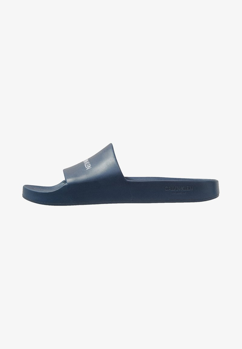 Calvin Klein Swimwear - Badesandale - blue shadow