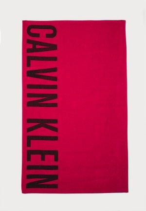 TOWEL - Beach towel - red