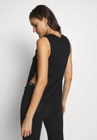 Calvin Klein Swimwear - INTENSE POWER TANK - Camiseta de pijama - black - 2