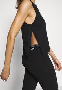 Calvin Klein Swimwear - INTENSE POWER TANK - Camiseta de pijama - black - 3