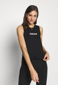 Calvin Klein Swimwear - INTENSE POWER TANK - Camiseta de pijama - black - 0