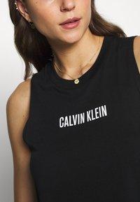 Calvin Klein Swimwear - INTENSE POWER TANK - Camiseta de pijama - black - 5