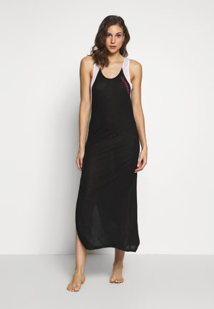 BLOCKING TANK DRESS - Noční košile - black