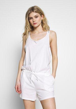 LOGO ROMPER - Pyjama - classic white