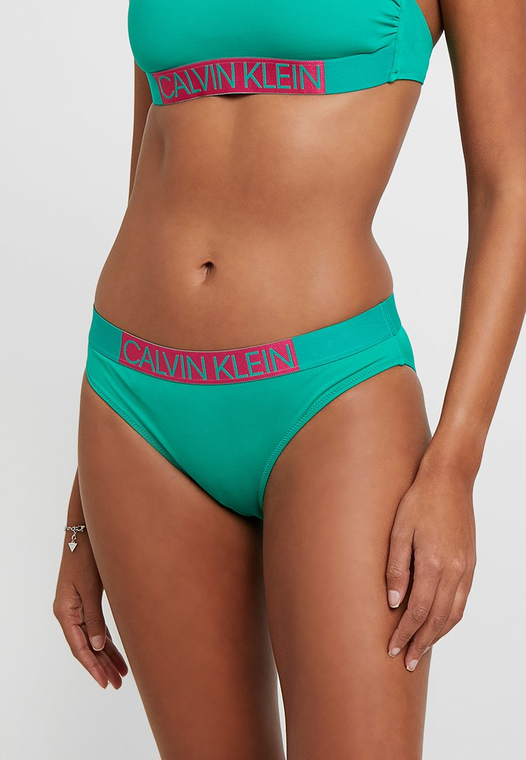 Calvin Klein Swimwear - ICON CLASSIC - Bikini bottoms - golf green