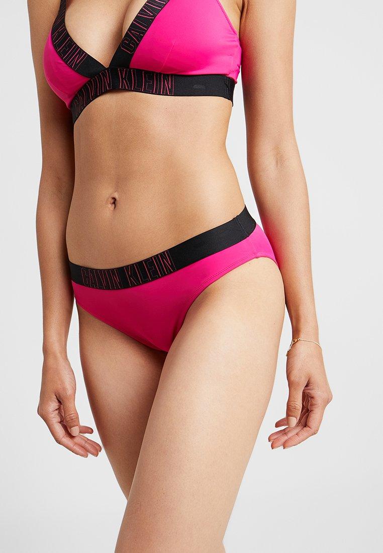 Calvin Klein Swimwear - INTENSE POWER CLASSIC - Bikini bottoms - beetroot purple
