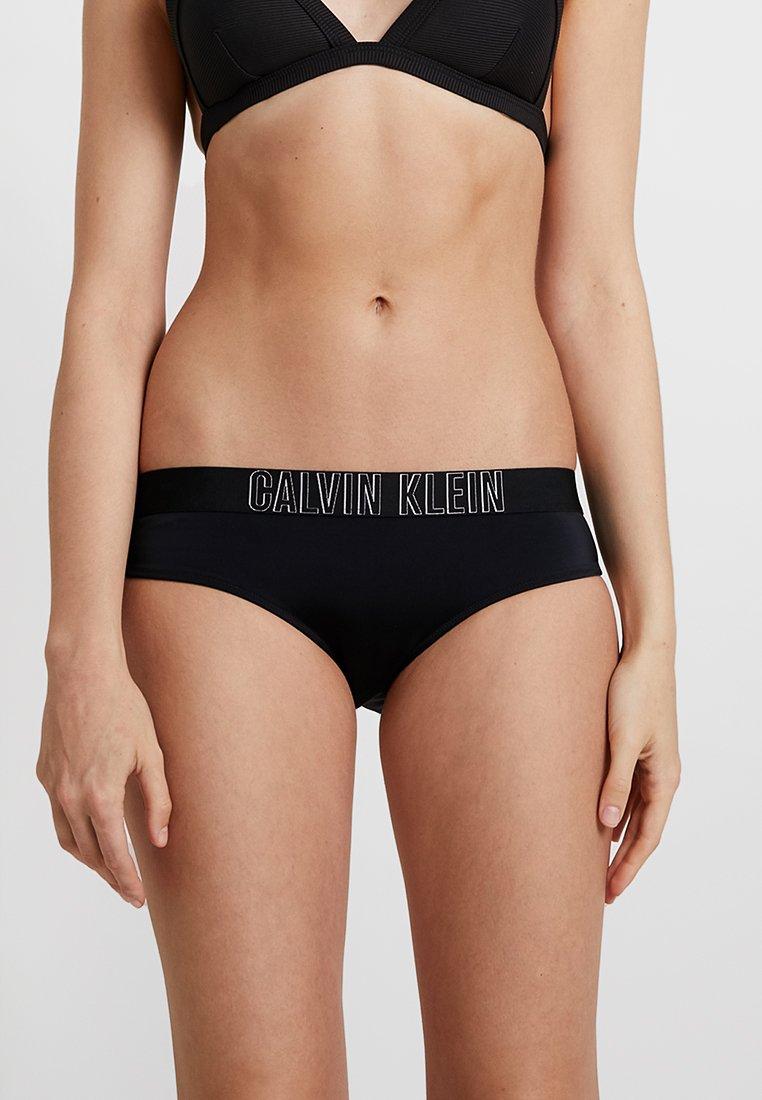 Calvin Klein Swimwear - INTENSE POWER HIPSTER - Bikinibukser - black