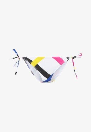 INTENSE POWER CHEEKY SIDE TIE - Bikinibukser - white/multi-coloured