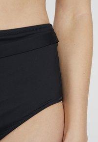 Calvin Klein Swimwear - CORE NEO HIGH RISE HIPSTER - Plavky - black - 4