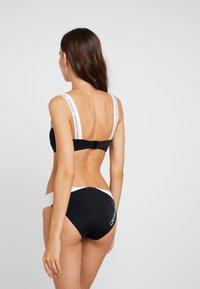 Calvin Klein Swimwear - BLOCKING - Bikini bottoms - black - 2