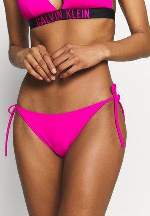 INTENSE POWER-S - CHEEKY STRING SIDE TIE - Spodní díl bikin - pink