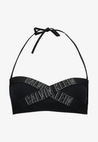 Calvin Klein Swimwear - INTENSE POWER BANDEAU - Bikini top - black - 4