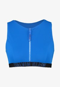 Calvin Klein Swimwear - INTENSE POWER OPEN BACK CROP - Haut de bikini - duke blue - 4