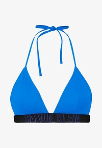 Calvin Klein Swimwear - INTENSE POWER FIXED TRIANGLE RP - Bikinitop - duke blue - 3