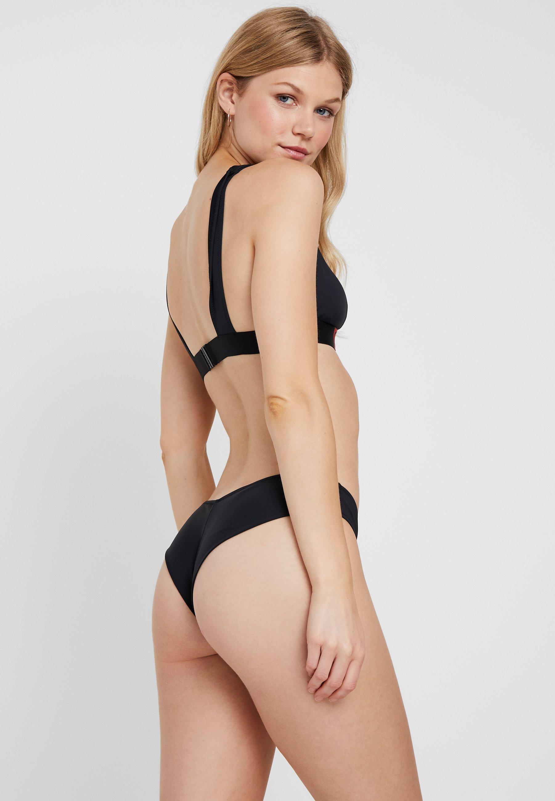 De Klein Bikini Calvin Black Swimwear Icon Core Apex TriangleHaut High iTlwOXkPZu