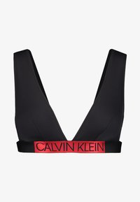 Calvin Klein Swimwear - CORE ICON HIGH APEX TRIANGLE - Bikinitop - black - 4