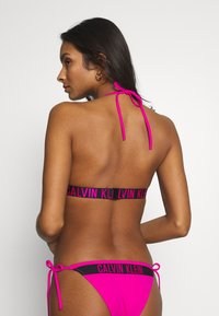 Calvin Klein Swimwear - INTENSE POWER FIXED TRIANGLE - Bikiniyläosa - pink - 2