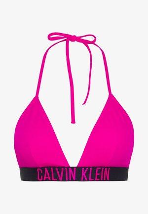 INTENSE POWER FIXED TRIANGLE - Bikini top - pink