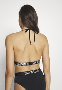 Calvin Klein Swimwear - INTENSE POWER FIXED TRIANGLE - Bikinitop - black - 2