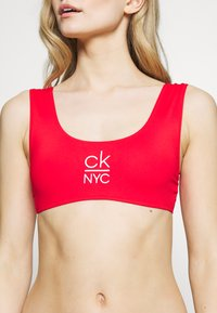 Calvin Klein Swimwear - BRALETTE - Top de bikini - high risk - 5
