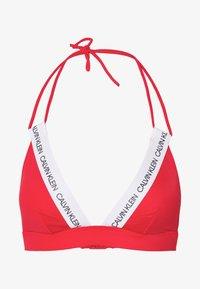 Calvin Klein Swimwear - LOGO FIXED - Top de bikini - high risk - 3