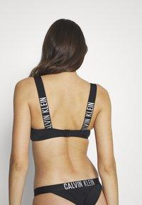 Calvin Klein Swimwear - INTENSE POWER BANDEAU - Bikinitop - black - 2