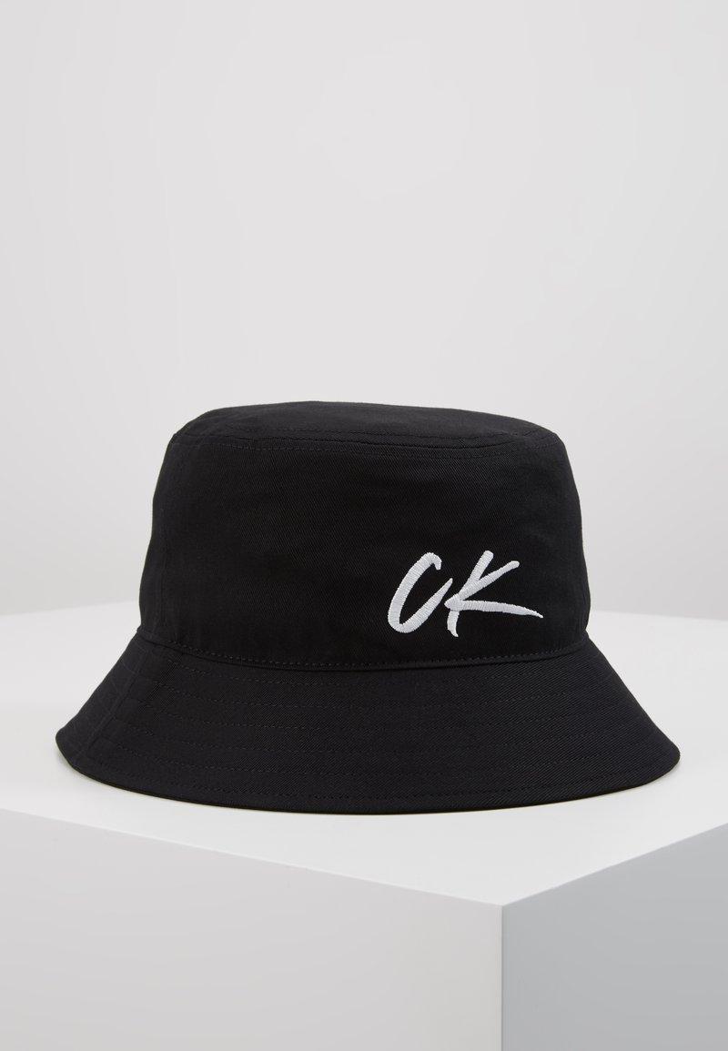 Calvin Klein Swimwear - WAVE BUCKET HAT - Hat - black