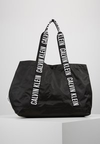 Calvin Klein Swimwear - INTENSE POWER BEACH TOTE - Kabelka - black - 0